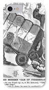 Cotton Loan Cartoon, 1865 IPhone Case
