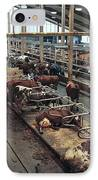 Cow Shed IPhone Case by Bjorn Svensson
