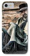 Cowboy Stare-down IPhone Case