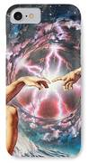Creation IPhone Case by Adrian Chesterman