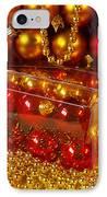 Crhistmas Decorations IPhone Case by Carlos Caetano