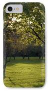 Cross In The Trees IPhone Case by John Bowers