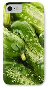 Cucumbers  IPhone Case by Elena Elisseeva