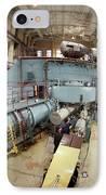 Cyclotron Particle Accelerator IPhone Case by Ria Novosti