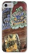Daigoji Temple Gate Gargoyle - Kyoto Japan IPhone Case