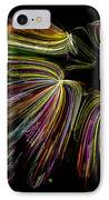 Dancing Colors IPhone Case by Joshua Dwyer