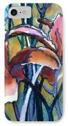 Daylily Stix IPhone Case by Kathy Braud