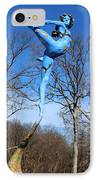 Deciduous Photographed Outside IPhone Case by Adam Long