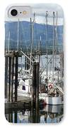 Deep Bay Harbor IPhone Case by Artist and Photographer Laura Wrede
