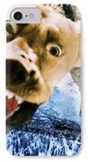 Devil Dog IPhone Case by Jill Reger