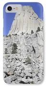 Devils Tower National Monument, Wyoming IPhone Case