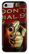 Dial 911 IPhone Case by JQ Licensing