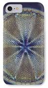 Diatom - Actinoptychus Heliopelta IPhone Case by Eric V. Grave