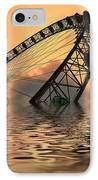 Disaster IPhone Case by Sharon Lisa Clarke