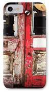 Door IPhone Case by Katie Cupcakes