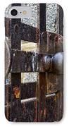 Door To Death Row IPhone Case by Paul Ward