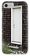 Doorway With Daisies IPhone Case by Michelle Wiarda