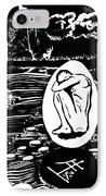 Dreaming In Black And White IPhone Case by Ion vincent DAnu