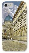 Dresden Academy Of Fine Arts IPhone Case by Christine Till