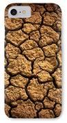 Dried Terrain IPhone Case by Carlos Caetano