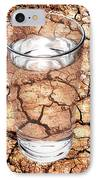 Drought IPhone Case by Victor De Schwanberg