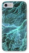 Dry River Beds, Satellite Image IPhone Case by Nasa