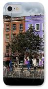 Dublin Building Colors IPhone Case by John Rizzuto