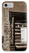 Early American House IPhone Case by Douglas Barnett