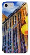Early Evening Lights IPhone Case by Jeff Kolker