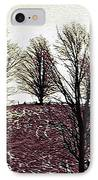 Early Morning Trees IPhone Case by Miss Dawn