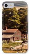 Early Settlers IPhone Case by Lourry Legarde