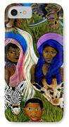 Earthangels Abeni And Adesina From Africa IPhone Case