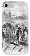 Effects Of Emancipation Proclamation IPhone Case by Photo Researchers