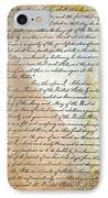 Emancipation Proc., P. 2 IPhone Case by Granger