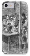 England: Soup Kitchen, 1862 IPhone Case by Granger