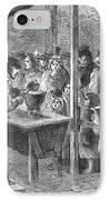 England: Soup Kitchen, 1862 IPhone Case