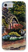 English Tapestry IPhone Case