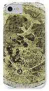 Engraving Of Moon, 1645 IPhone Case by Science Source