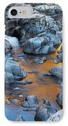 Evening Light On The Black River At Johnsons Shut Ins State Park IIi IPhone Case