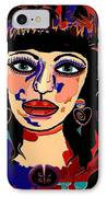 Exotic Woman IPhone Case by Natalie Holland