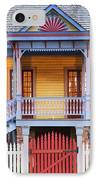 Facade Of Plantation Slave Quarters IPhone Case by Jeremy Woodhouse