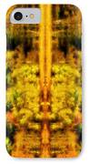 Fall Abstract IPhone Case by Meirion Matthias