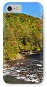 Fall Along Elk River IPhone Case by Thomas R Fletcher