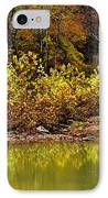 Fall Along West Fork River IPhone Case