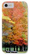 Fall In Michigan IPhone Case by Optical Playground By MP Ray