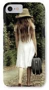 Farewell IPhone Case by Joana Kruse