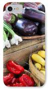 Farmers Market Summer Bounty IPhone Case
