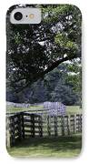 Farmland Shade Appomattox Virginia IPhone Case