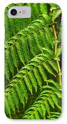 Fern Fronds IPhone Case by Carlos Caetano