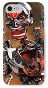 Fierce Androids Riot The City Of Tokyo IPhone Case